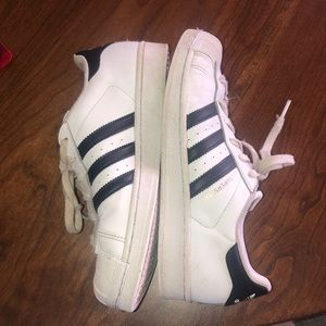 Lightly worn Adidas Superstar